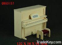 dollhouse mini wooden piano