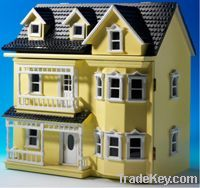 dollhouse mini house model