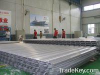 aluminum alloy I-rib panel for marine use