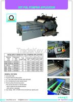 UV CURING SYSTEMS, HOT FOIL STAMPING MACHINE