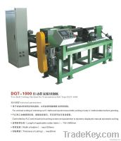 Two roll cutting machine for transmission belt
