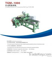 Grinding machine for transmission belt