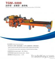 Timing belt (with) grinding wedge back machine