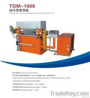 Timing belt grinding back machine