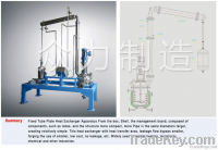Small test reactor kettle (oil heating)