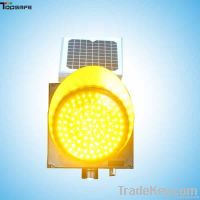 LED Solar traffic flashing light