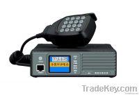 Vehicle mounted GPS positioning intercom terminal device