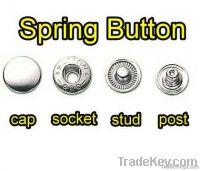 spring snap button