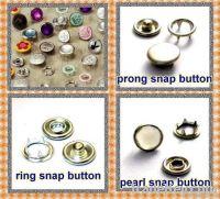 prong snap button