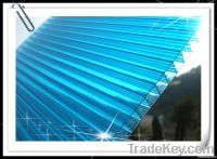 Red Colour 6mm Cellular Polycarbonate Sheet Panel