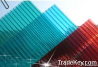 Blue Polycarbonate Roofing Greenhouse construction materials