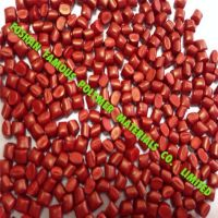 high concentration red masterbatch suitable for plastic products of common PE, PP, ABS, EVA, PS, AS, PET, PA and PC