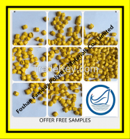 pp plastic material price Yellow Masterbatch Y3207
