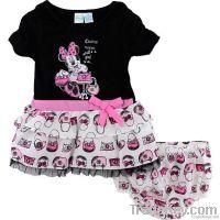cute children clothes, kid's 2pcs clothing set
