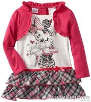 sweet candy baby children clothes set
