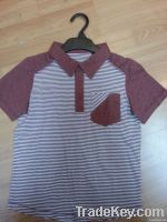 Boys cut and sew polo