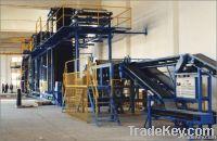 Colored asphalt shingle production line