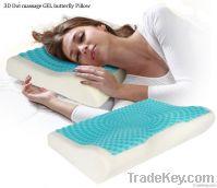 3D Dot massage GEL butterfly Pillow