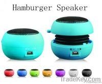 Portable Hamburger Mini Speaker