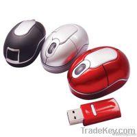 Computer Mini Wireless Optical Mouse