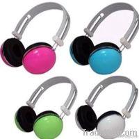 Colorful Earphone Computer Stereo MP3 Headphone