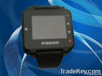 Text message pager watch