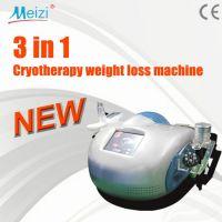 Portable 3 in 1 Multipolar RF cryotherapy cavitation machine