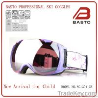 2014 winter fashion ski goggles newest style