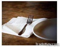 Eco-friendly White Dinner Paper Napkin
