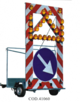 Moving Security Light Panel for Trailers or trucks