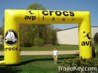 inflatable arch, arch, inflatable archway, archway, advertising arch