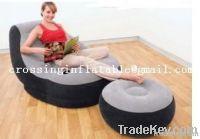intex flocked inflatable sofa lounge chair inflatable sofa