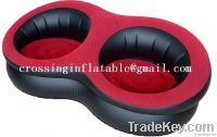 2 seat pvc inflatable chair inflatable chair
