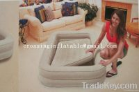 inflatable air bed with frame for kids