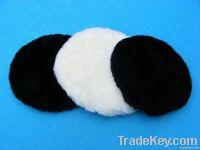 wool felt buffing pad