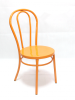 TW8013(Yellow) Steel Dining Chair