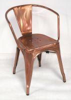 TW8002(Copper) Outdoor Metal Tolix Armchair