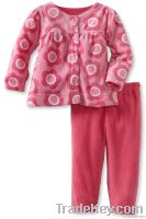 lovely print children clothing set
