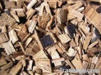 ruber wood pellents, chips