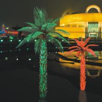 Lighted LED Palm Tree, Coconut Tree, Lighting Outdoor Garden Lights