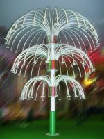 LED Lighted Firework, Outdoor Lighting Fixtures