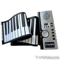 61 Keys Foldable Soft Portable Electric Digital Roll Up Keyboard Piano