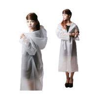 new design transparent pvc raincoat for adult