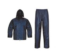2pcs 100%polyester police raincoat