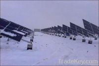 tilt single axis solar tracker, tracking system