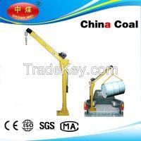 HP1000 12V DC portable lift crane, small truck crane, small crane for truck