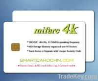 Chip Card Mifare (S70)