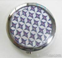 folding pocket mirror mini decorative pocket mirror