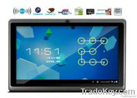 7 inch capacitive multi-touch panel, 800x480pixels
