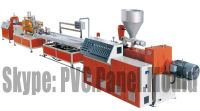 SJ70 Single Scvrew PVC Buckle Board Extrusion Line